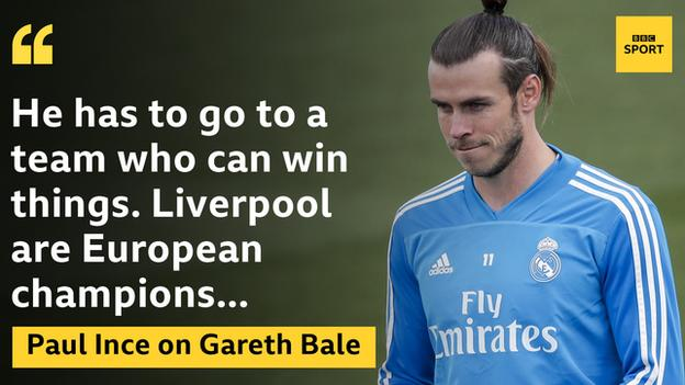 Paul Ince believes Bale must join a club where he can play regularly