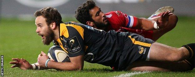 Jackson scored 14 points as Wasps recorded a famous win over Toulon