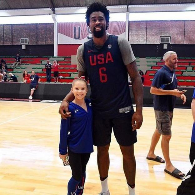 Ragan Smith and Deandre Jordan