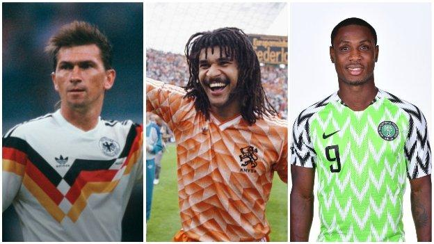 Iconic football shirts: Vote for your favourite thumbnail