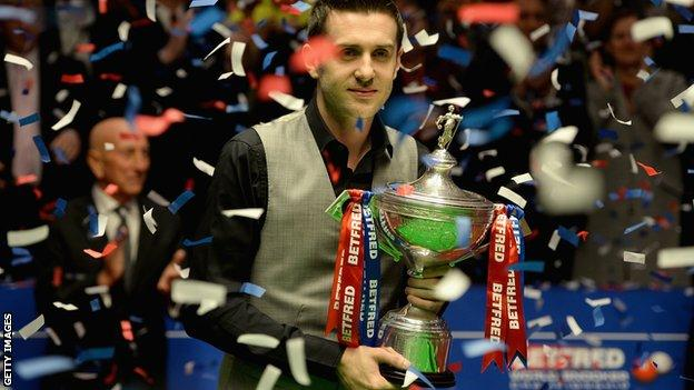 Mark Selby wins the 2016 world championship