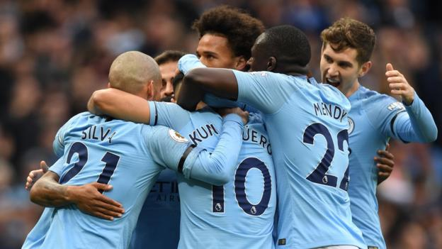Man City 6-1 Southampton  Blues cruise to comfortable win - BBC Sport 7c840e6e8