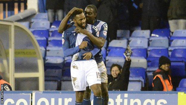 Birmingham City celebrate