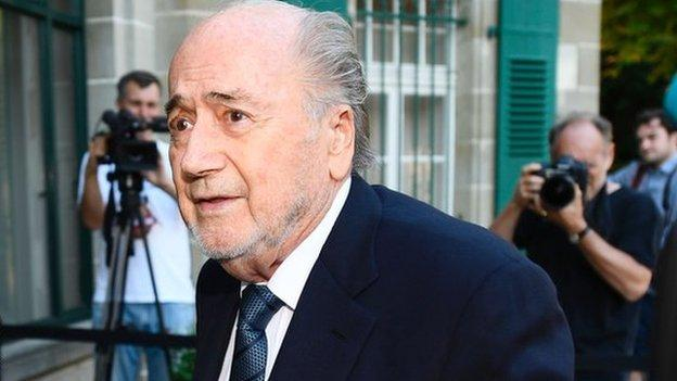 Ex-Fifa chief Blatter expresses support for Morocco World Cup bid