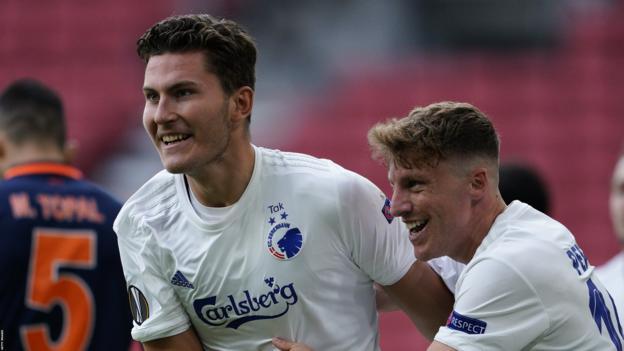 FC Copenhagen 3-0 Istanbul Basaksehir: Danish side overturn first-leg deficit - bbc