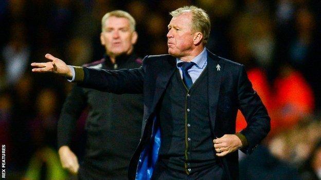 QPR boss Steve McClaren got the better of Villa counterpart Dean Smith at Loftus Road