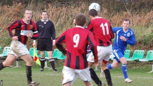 Guernsey football match
