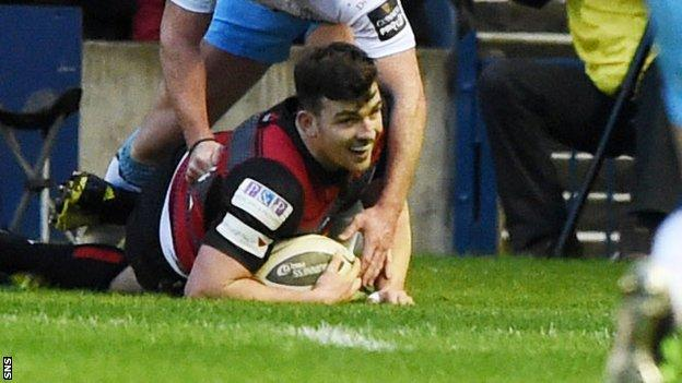 Edinburgh won the first-leg at Murrayfield 23-11