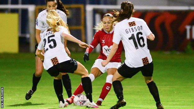 Bristol City Women v London Bees