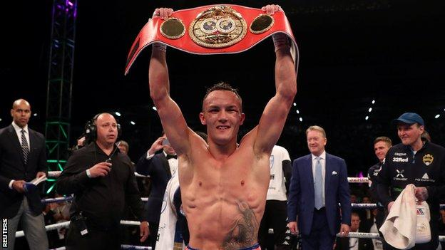 Warrington became the first world boxing champion to hail from Leeds