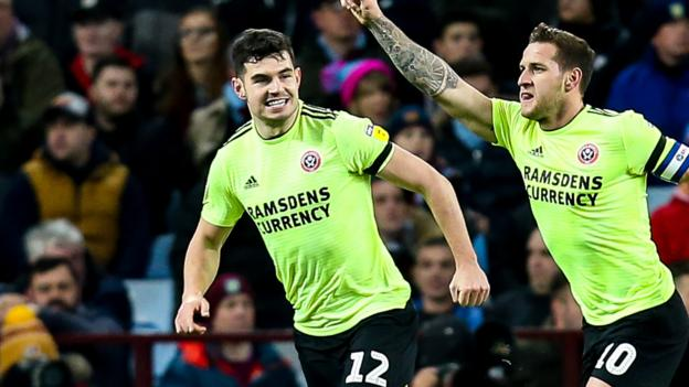 Aston Villa 3-3 Sheffield United: Andre Green header completes Villa comeback thumbnail