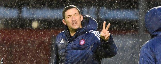 Canning felt his side were unlucky to lose against Kilmarnock