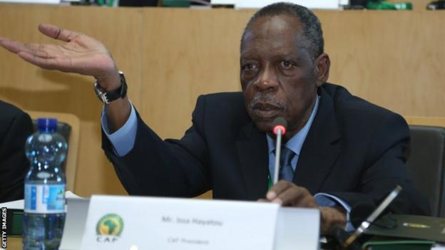 Former Confederation of African Football president Issa Hayatou