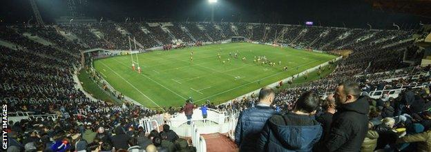 Georgia have attracted raucous crowds to their matches