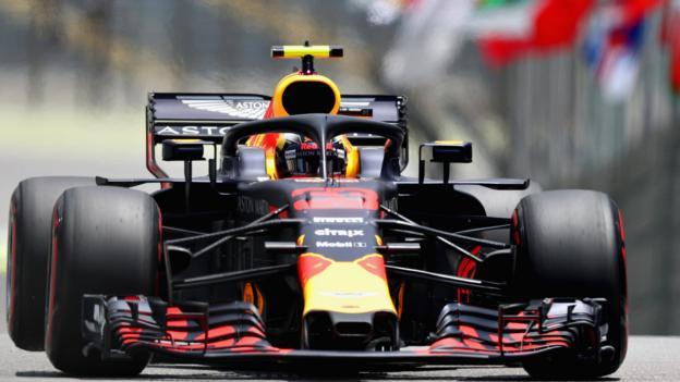 Max Verstappen más rápido en la práctica del GP de Brasil