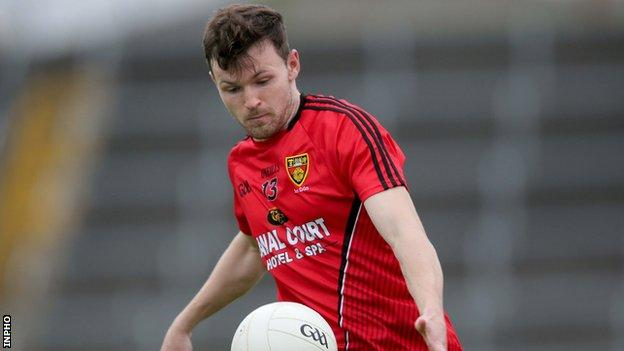 Donal O'Hare's scores all came in the first half