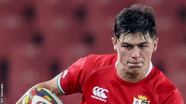 Louis Rees-Zammit scored three tries for the British & Irish Lions during their tour of South Africa this summer
