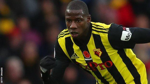 Watford midfielder Abdoulaye Doucoure