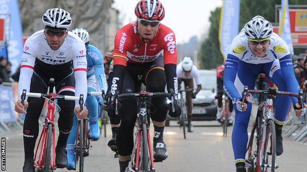 Kris Boeckmans won the World Ports Classic earlier this year