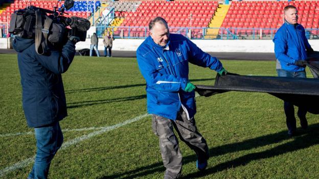 Rangers' Scottish Cup tie at Cowdenbeath postponed thumbnail