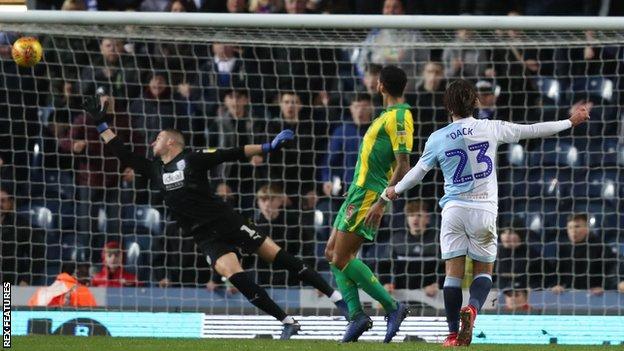 Bradley Dack scores for Blackburn