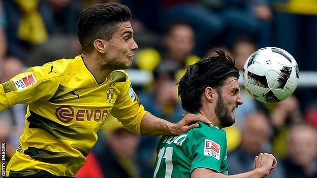Borussia Dortmund defender Marc Bartra