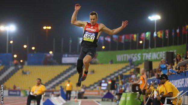 German long jumper Markus Rehm
