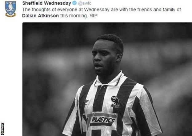 Sheffield Wednesday's tribute