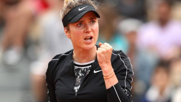 French Open: Elina Svitolina beats Venus Williams to reach second round thumbnail