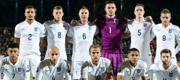 England beat Lithuania