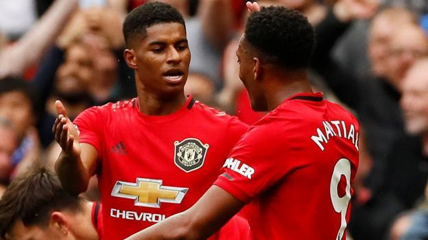 Manchester United 4-0 Chelsea: Marcus Rashford stars in fine win thumbnail