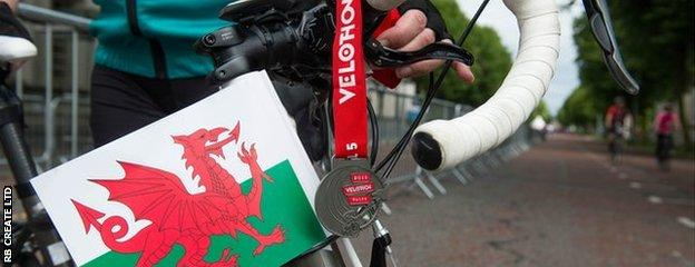 The inaugaral Velothon Wales