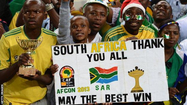 SA hosted 2013 Afcon