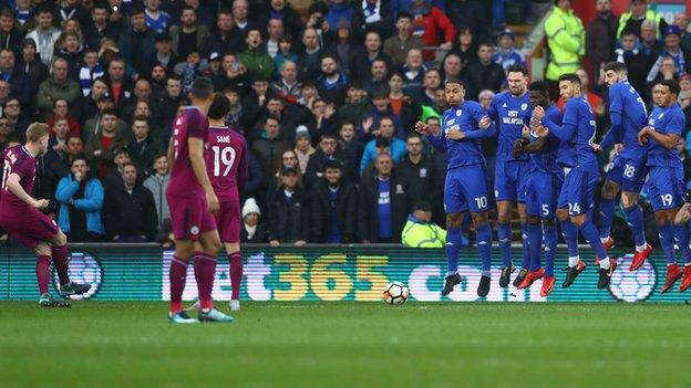Man City ease past Cardiff to reach fifth round - highlights & report