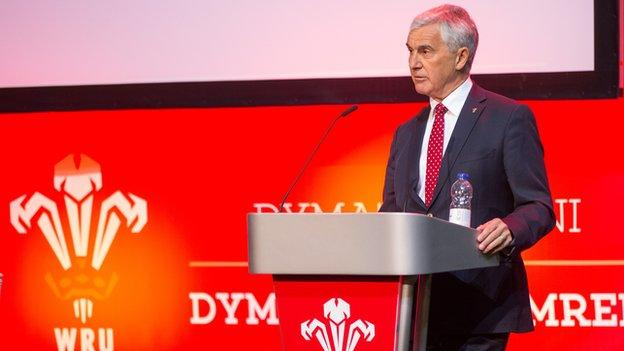 Gareth Davies is a former Wales captain who played 21 times for his country between 1978 and 1985