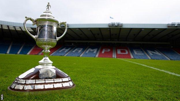Scottish Cup at Hampden