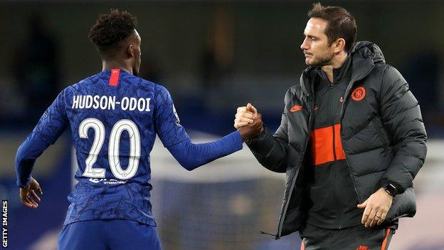 Callum Hudson-Odoi: One chat with Frank Lampard convinced Chelsea winger to stay