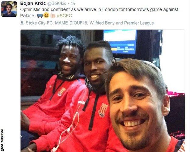 Bojan Krkic on twitter