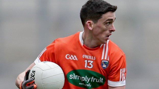 Rory Grugan scored 1-4 for Armagh in Sunday's dramatic draw with Westmeath