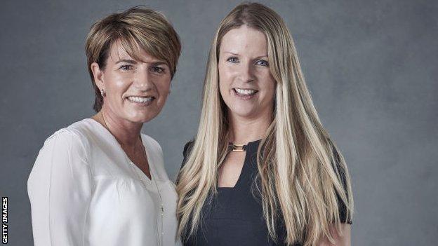Fran Connolly and Jo Adams