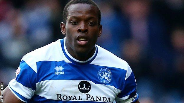 Nedum Onuoha in action for QPR