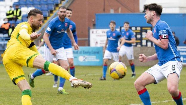 Martin Boyle goal v Stranraer