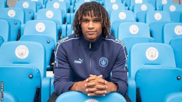 Man City defender Nathan Ake