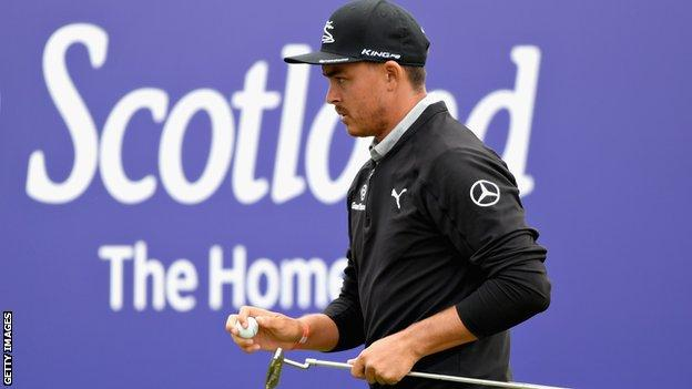 Rickie Fowler won the Scottish Open when it was last staged at Gullane Golf Club