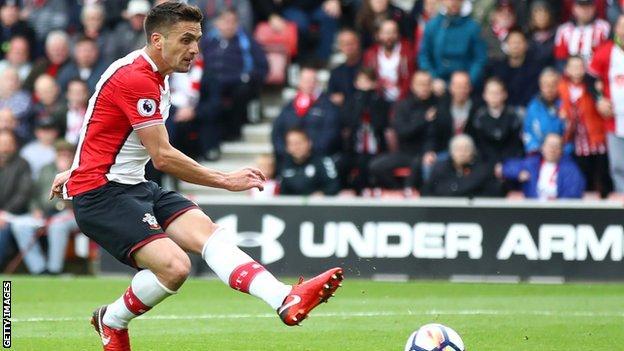 Dusan Tadic scored both Southampton goals