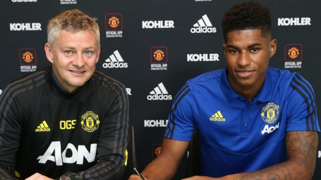 Marcus Rashford: Man Utd striker signs new contract to 2023 thumbnail