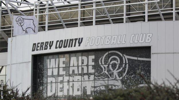 Derby County stadium