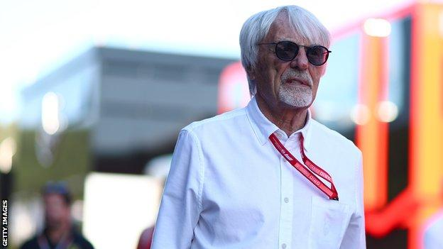 Former Formula 1 boss Bernie go off in 2019, the Austrian Grand Prix