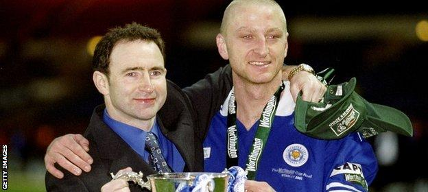 Martin O'Neill and Matt Elliott