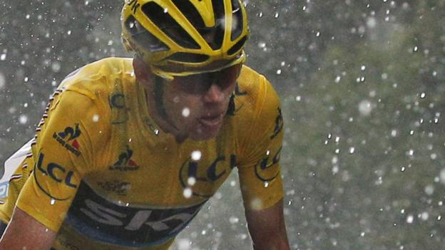 Tour de France 2016: Chris Froome retains lead as Tom Dumoulin wins stage nine